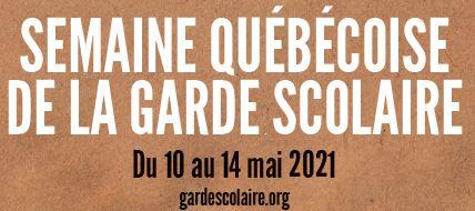 Semaine québécoise des services de garde en milieu scolaire