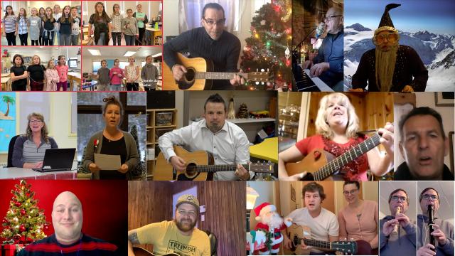 Un spectacle de Noël pour les élèves du centre Saint-Eugène