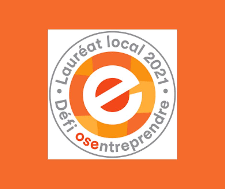 Lauréats locaux - Défi OSEntreprendre 2021