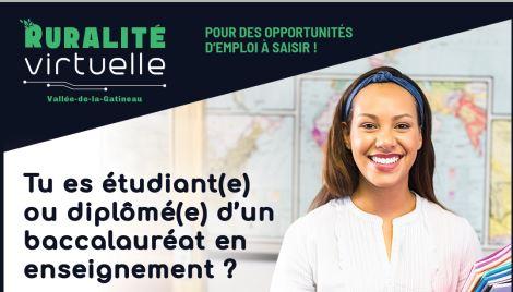 Ruralité virtuelle : Pour des opportunités d'emploi à saisir !