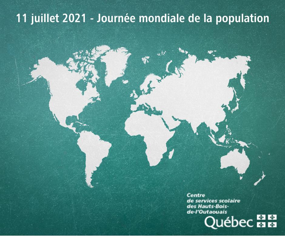 Journée mondiale de la population 2021